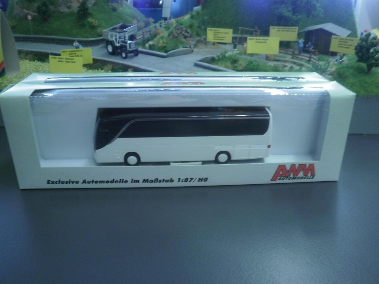 AWM Reisebus Setra S 415 HD COMAIR neutral weiß