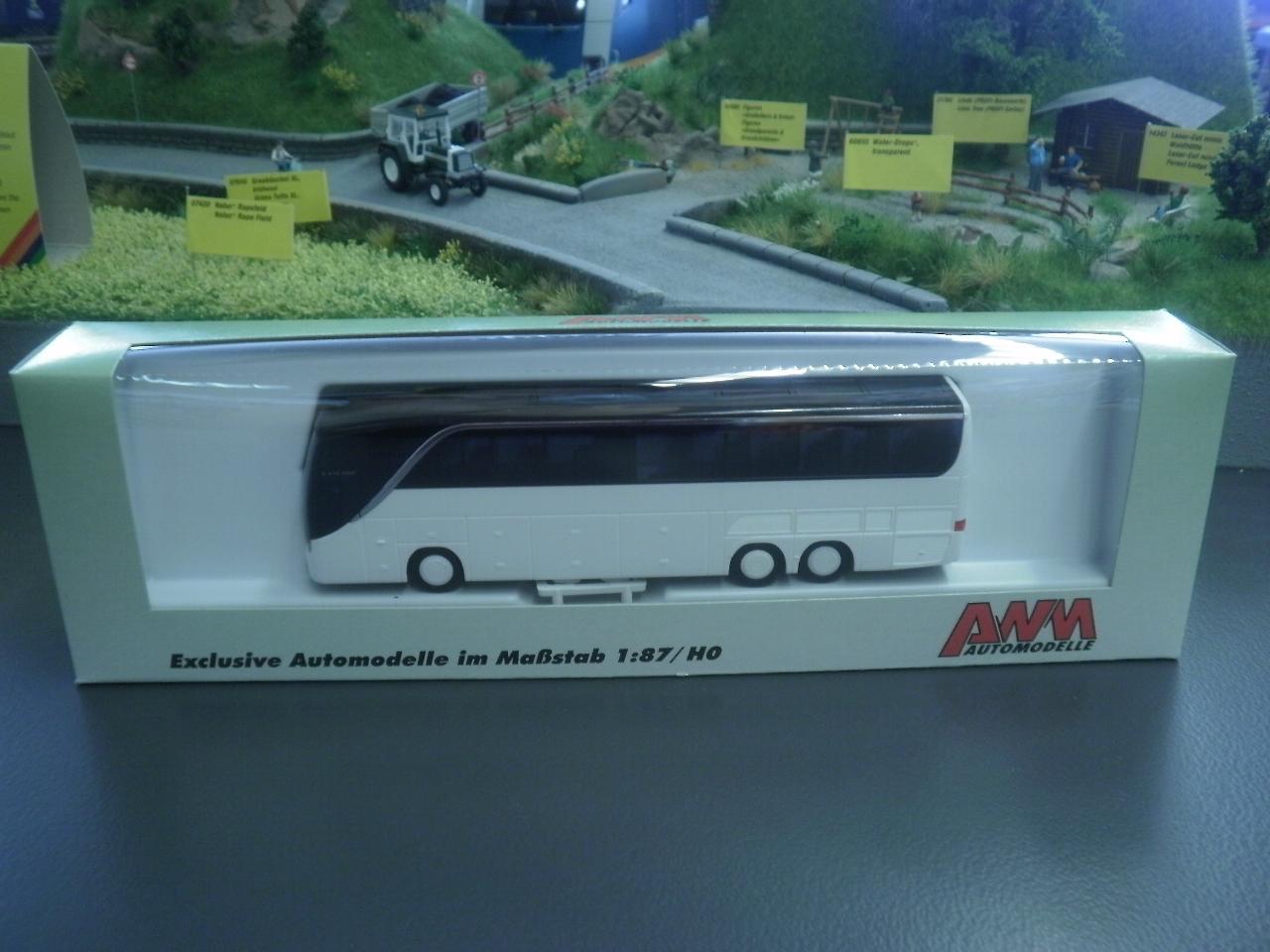 AWM Reisebus Setra S 416 HDH FL neutral weiß