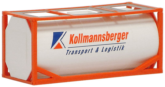 AWM SZ 20 ft.Tank-Container TWS Aqua
