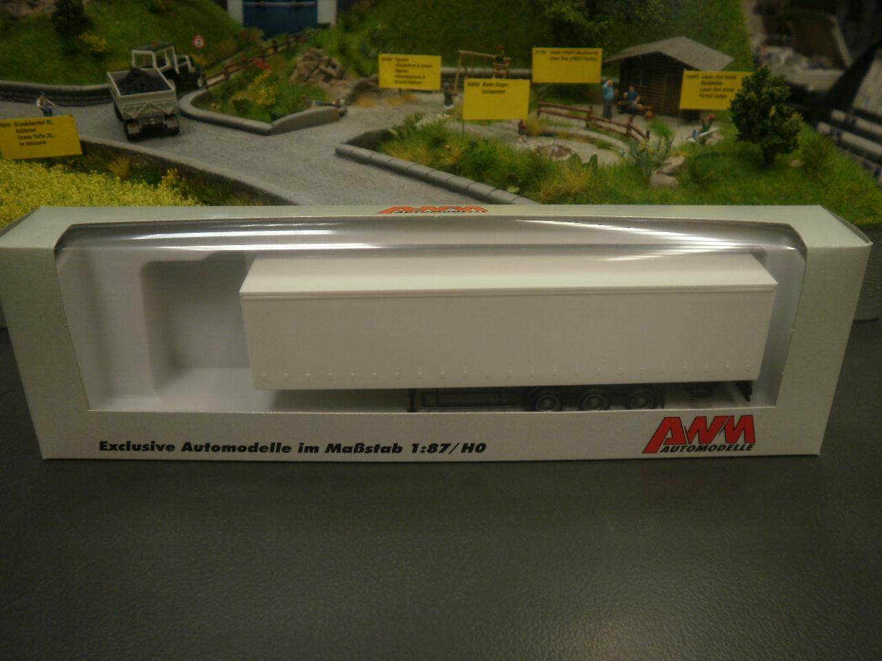 AWM SZ 40/' Cont-SZ Containerauflieger braun