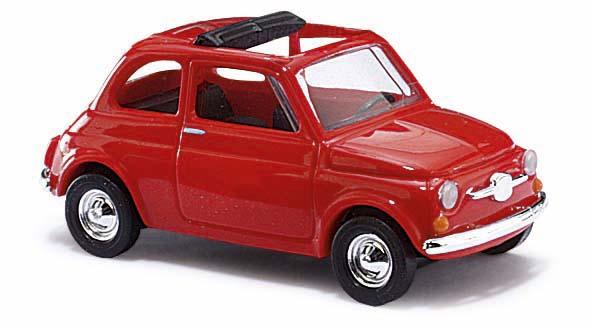 ds automodelle modellbauvertrieb busch pkw fiat 500 rot 48720 online kaufen. Black Bedroom Furniture Sets. Home Design Ideas