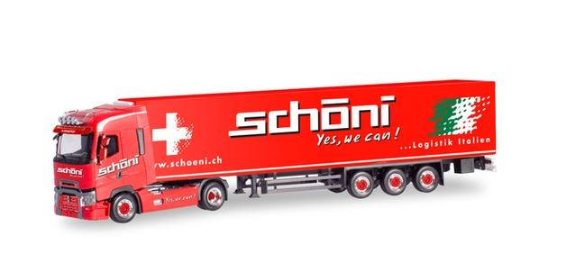Herpa LKW Scania R Highl//Aerop Kühl-KSZ Sturm Fortin 305181