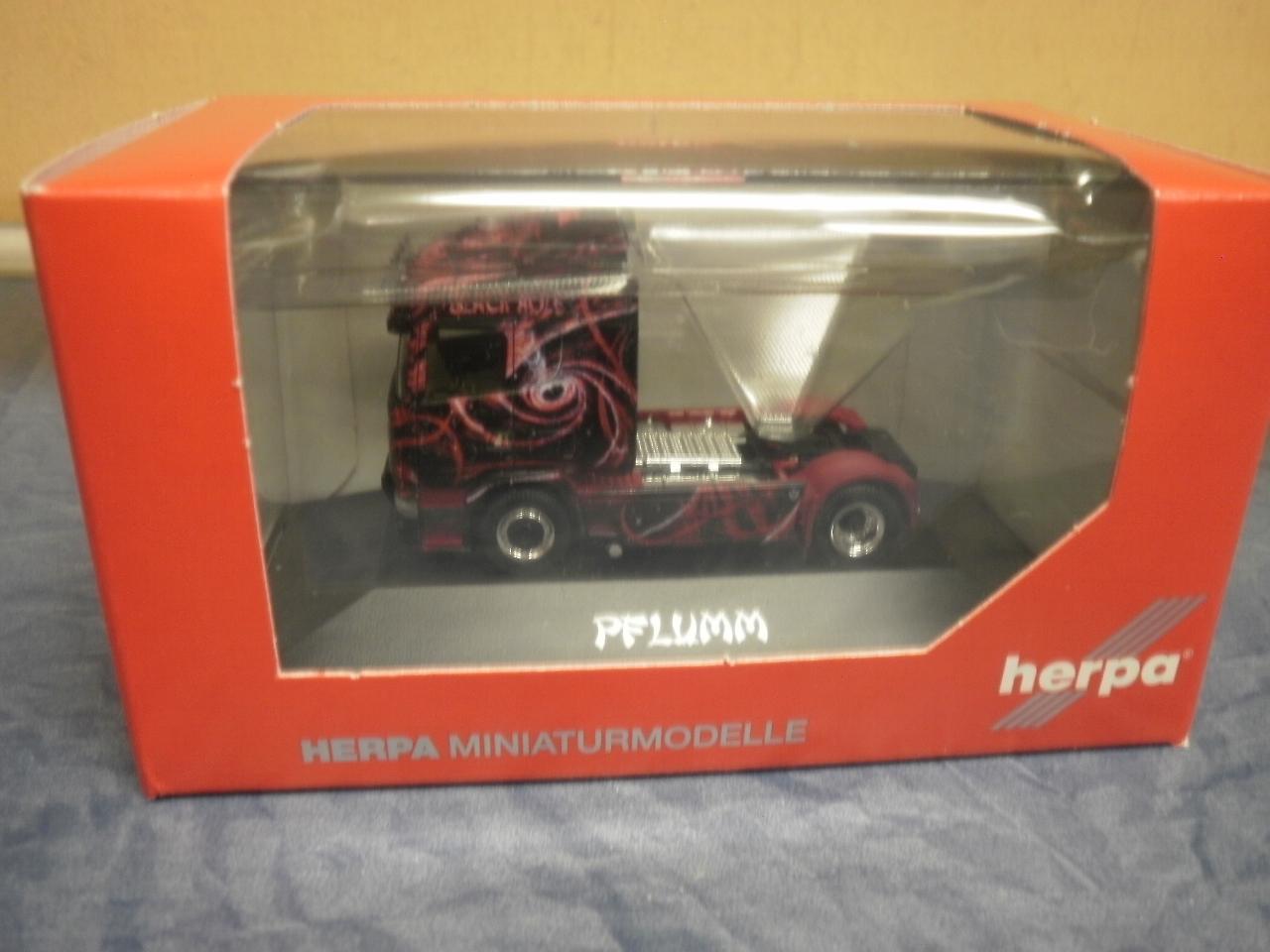 Herpa LKW Scania R Topl//Aerop SZM Silver Surf //ML Transporte 110754
