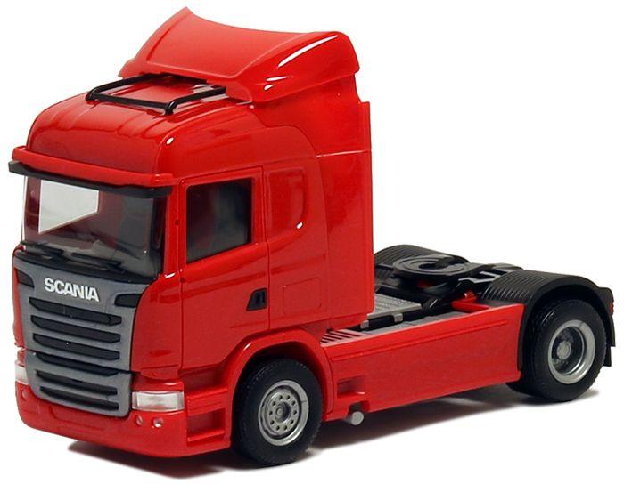 szm rojo Herpa camiones scania R 13 topl//aerop