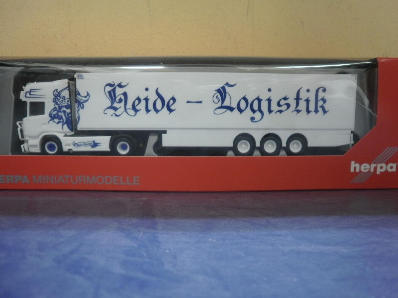 Kühl-KSZ LEX-US 305518 Herpa LKW Scania R Topl.//Aerop