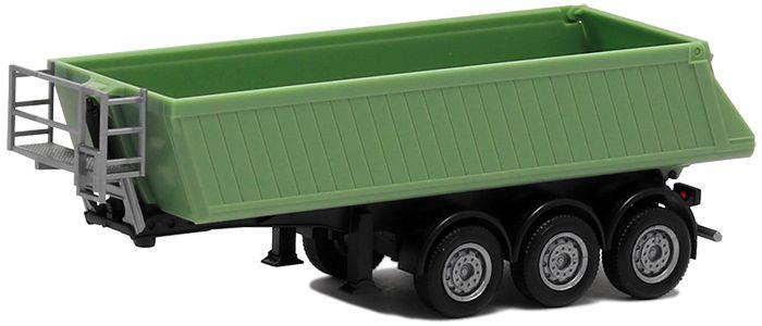 Herpa LKW Scania CR XT ND Bau-SZM 2achs resedagrün