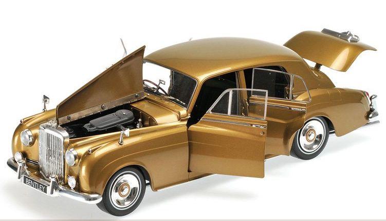 goldmet. Minichamps 1:18 BENTLEY S2-1960