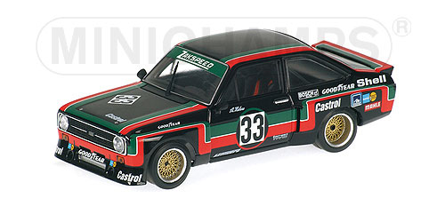 Minichamps 1:43 FORD ESCORT II RS 1800 Hahne drm SuperS