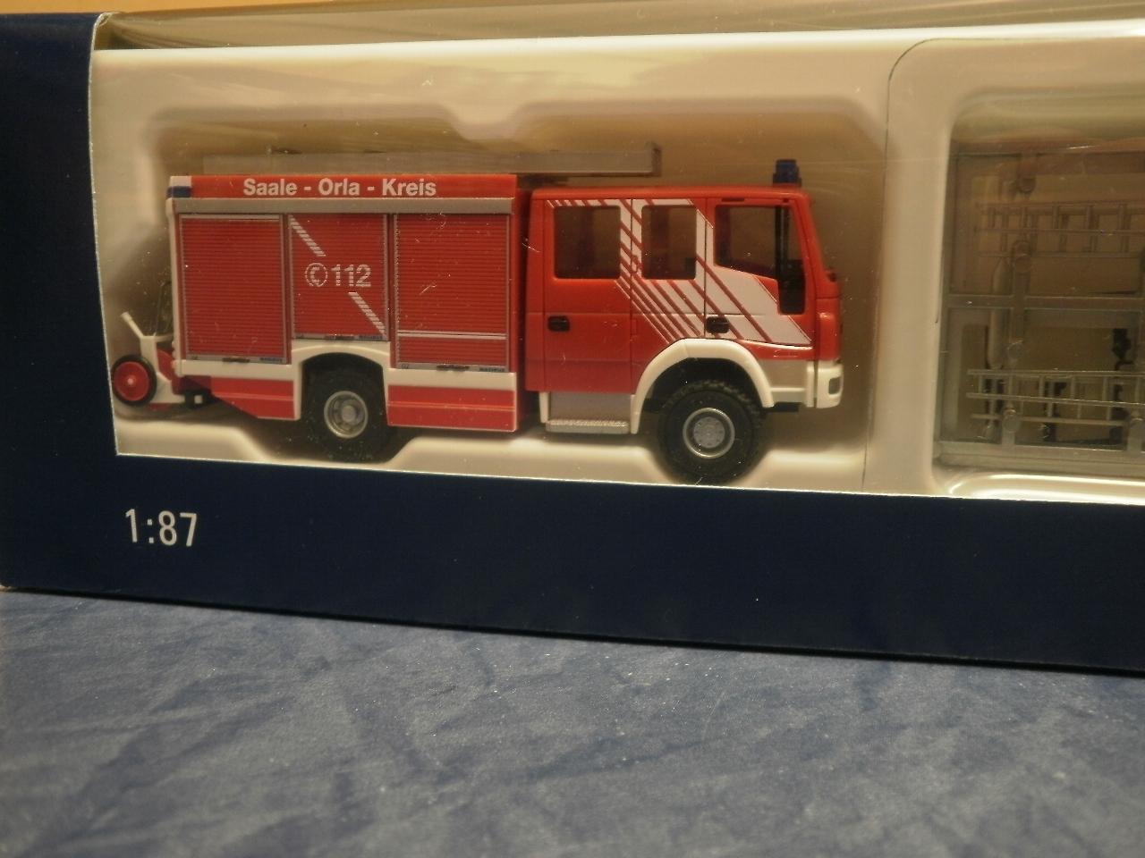 Rietze Feuerwehr Iveco Magirus Alufire 3 HLF 20//16 Bad Lobensten 61244