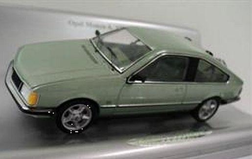 greenmet. Schuco 1:43 Opel Monza A